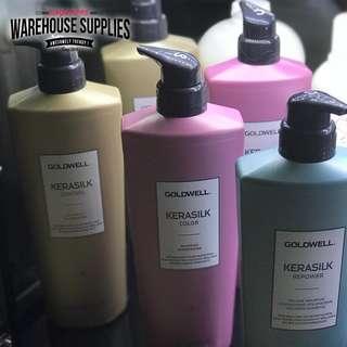 🚚 Goldwell Kerasilk Premium Colour Shampoo / Conditioner 1000ML