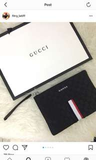 Gucci clutch  2 in 1