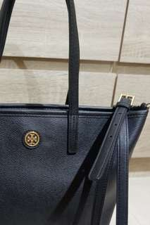 preloved tory burch cameron mini square tote bago