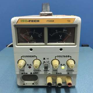 Iso-Tech IPS303A DC Power Supply, 0-30V, 0-3A