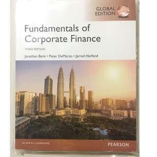 Pearson Fundamentals of Corporate Finance 3/e