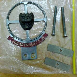 Jaguar Drivers' Club Car Badge Vintage