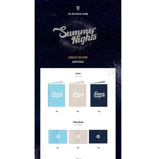 [GO] TWICE 2nd Special Album 'Summer Nights' Dance The Night Away