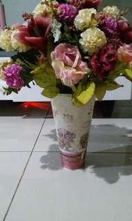 Purple Rose Antique Vase #KanopiXCarousell