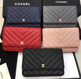 Chanel woc chevron