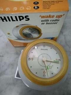 Philips radio cum clock