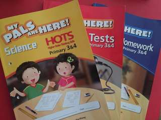 MY PALS ARE HERE! Science Homework / Tests / Higher Order Thinking Skills Primary 3&4