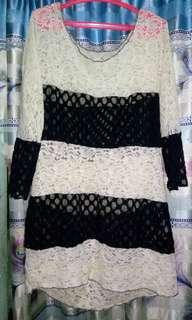Black n white lace