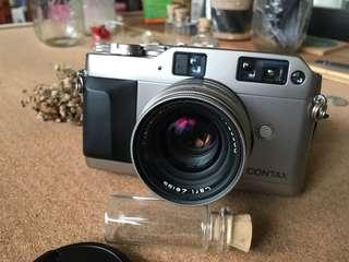 Contax g1 film camera + 45mm f2