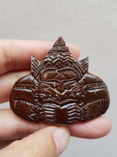 Thai amulets Phra Rahu Archan Prakong Lucky pendant protection