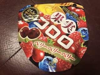 🚚 (現貨)日本UHA味覺糖 綜合莓果口味