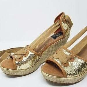 Sperry Milly Palm Beach Wedge Sandals