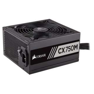 CORSAIR CX Series™ CX750M - 750 Watt 80 PLUS® Bronze Certified Modular ATX PSU