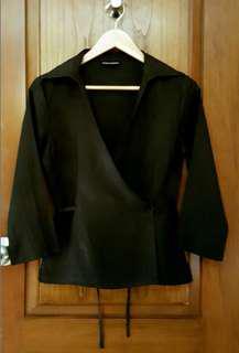 DKNY Black Linen