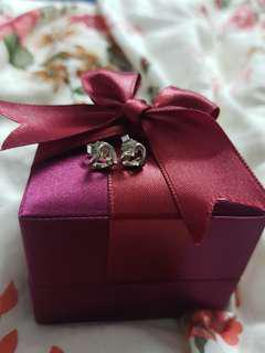 SK earring with box