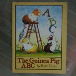 PRELOVED HARD COVER ABC BOOK