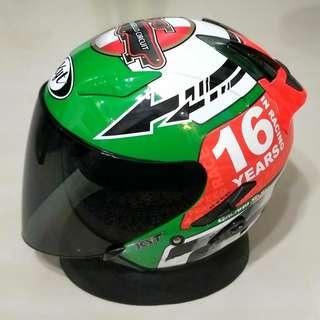 Kyt Helmet (Free Tinted Visor)