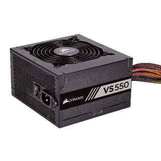 CORSAIR VS Series™ VS550 - 550 Watt 80 PLUS® White Certified PSU
