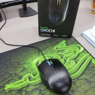 Razer Orochi 8200 + Razer Goliathus