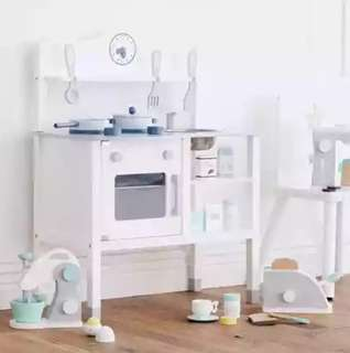 (PO) *RESTOCKED* BN Nordic Scandi Design White Kitchen Toy Set