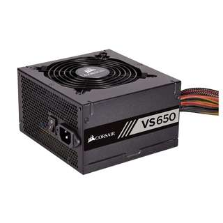 CORSAIR VS Series™ VS650 - 650 Watt 80 PLUS® White Certified PSU