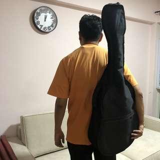 Guitar Bag - Guitar Cover (black)