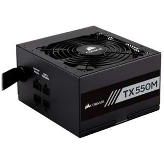 CORSAIR TX-M Series™ TX550M - 550 Watt 80 Plus® Gold Certified