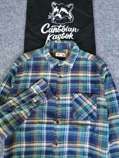 global work flannel shirt