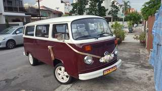 Kombi classic car combi Volkswagen wedding car