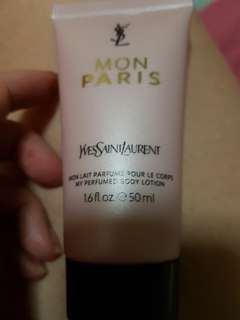 Ysl mon paris body lotion