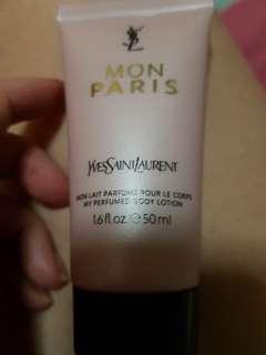 Ysl mon paris body lotion