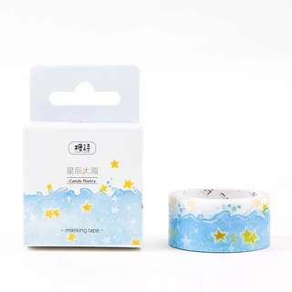 🌸Ready Stock🌸 Star and the Sea Washi Tape