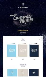 TWICE SUMMER NIGHTS SPECIAL ALBUM