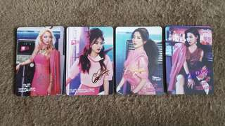 Girls' Generation 少女時代 MR MR yes card (不散買)