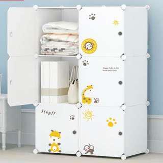 DIY 自由組合收納櫃