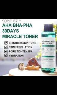 30 Days MIRACLE TONER