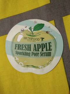 Skinfood Fresh Apple Sparkling Pore Serum Sample