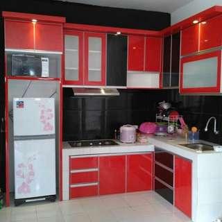 Kitchen Set Bisa Kredit Free 1x Angsuran