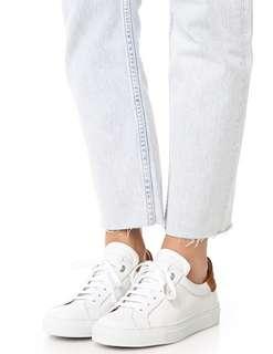 🚚 #全新現貨 免代購 英國品牌 Belstaff 低筒撞色小白鞋 小牛皮 歐美網紅超高出鏡率鞋款