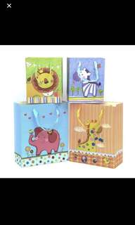 Party Bags (goodie bags) - animal theme