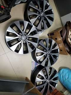 Nissan C27 original 15inches rims x 4