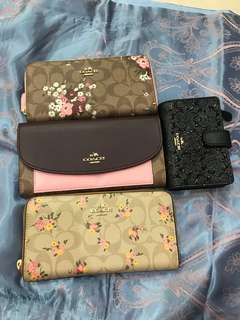 Ready Stock women wallet purse purse pouch wristlets