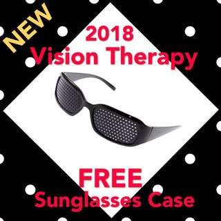 Eyesight Therapy Pinhole Glasses Vision Therapy