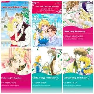 Paket Ebook Komik Harlequin Terjemahan 3