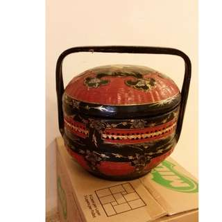 Chinese wedding dowry basket