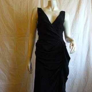 Fendi Drape Dress in Silk Crepe de Chine USD $2,000