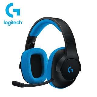 🚚 Logitech 羅技 G233 幻競之聲 有線遊戲耳機麥克風