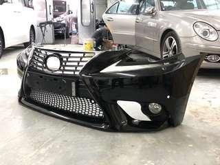 Lexus 原裝正廠IS250頭Bumper (13-15款)