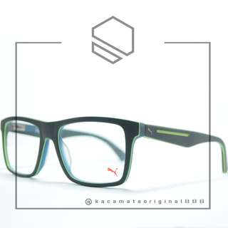 ORIGINAL Kacamata Baca PUMA Seri 0520 Plastik Kotak