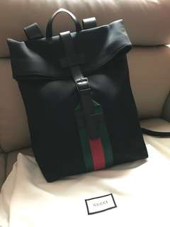 全新 Gucci backpack 背囊 背包